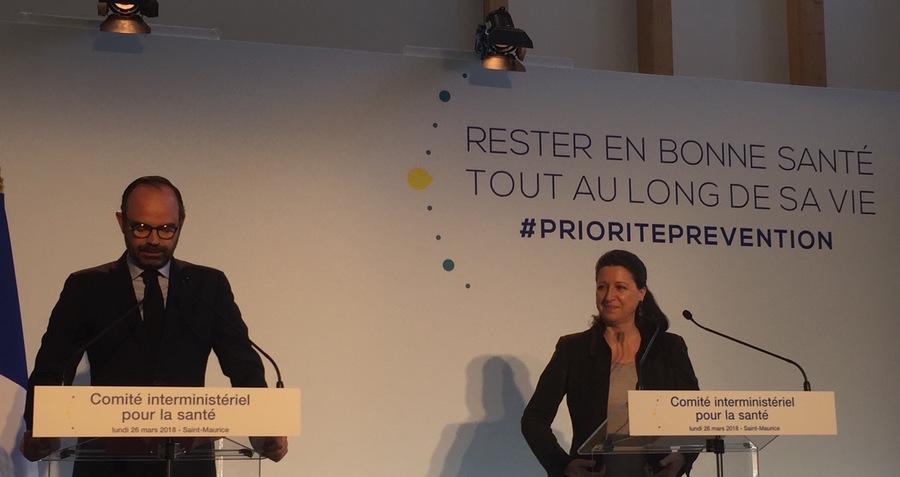 La présentation des mesures de prévention a été faite par Agnès Buzyn et Édouard Philippe.