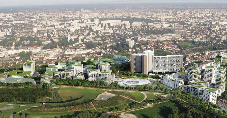 Les projets immobiliers de Gustave-Roussy s'insèrent dans le cadre de l'opération Campus Grand-Parc.