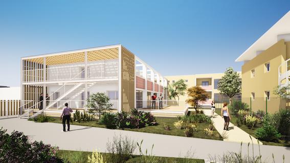 La rénovation complète des services de psychiatrie sur le site seynois du CHI Toulon-La Seyne a débuté fin 2018.