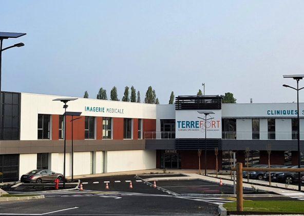 Le centre Terrefort accueille des patients depuis le 1er avril.