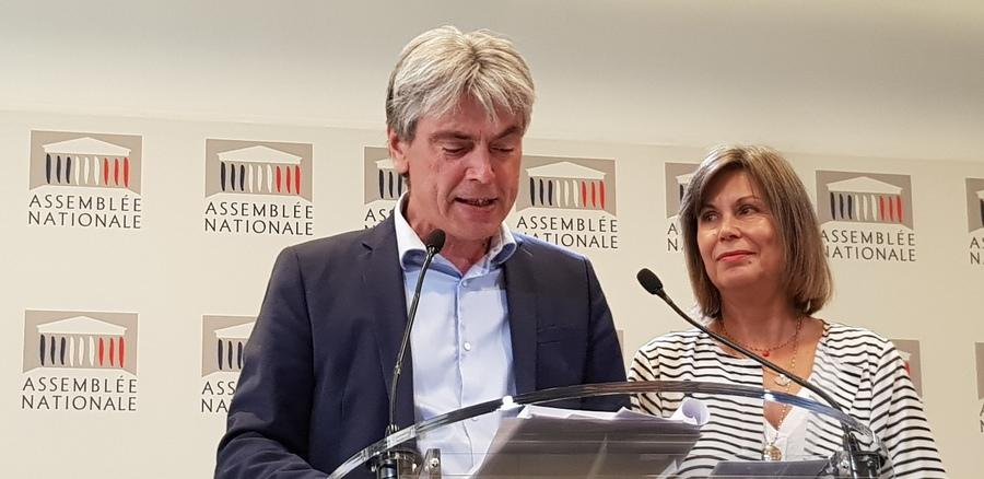 Sébastien Jumel, rapporteur, et Jacqueline Dubois, présidente.