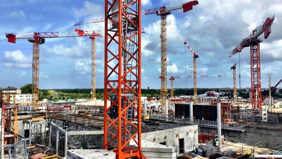 La construction du nouveau CHU de Pointe-à-Pitre représente un investissement de 580 M€.