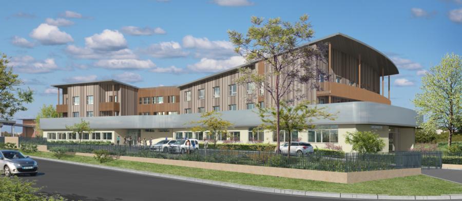 La future clinique de Clavette sera désormais située à Angoulins.