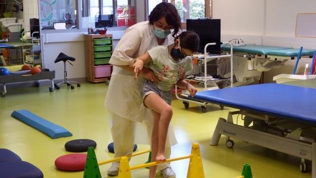 Le centre de soins et de rééducation a rouvert ses portes le 12 mai comme l'élémentaire. (Emmanuelle Deleplace/Hospimedia)