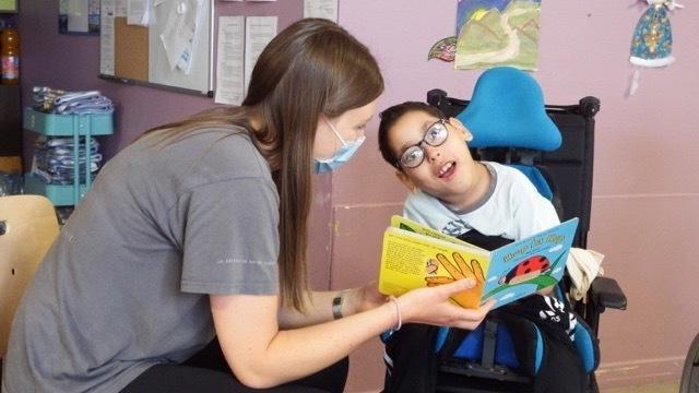 Le Phare, l'espace hébergement polyhandicap de l'IME le Landais, a augmenté sa capacité d'accueil de 5 places cette semaine. (Emmanuelle Deleplace/Hospimedia)