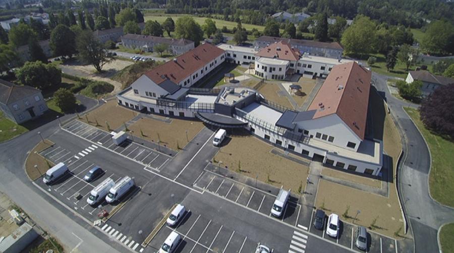 Le nouveau pôle de soins de Beauvais-Méru-Chaumont en Vexin de 6211m2 ouvre ses portes le 5 octobre. (EPSM de l'Oise).