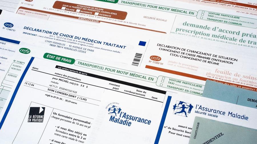 """Sous la devise """"Agir ensemble et protéger chacun"""", l'Assurance maladie maintient la continuité du service public en temps de crise et envisage l'avenir avec de nouvelles actions prioritaires. (Cardoso/BSIP)"""