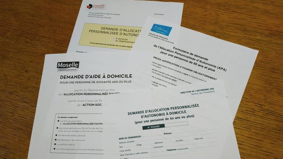 Parmi les travaux engagés par la CNSA en 2021, la refonte des formulaires Apa pour un téléservice unique de demande de droits. (Agathe Moret/Hospimedia)