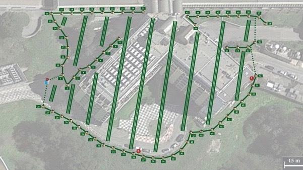 Près de 66 modules-pièges sont installés au CHU de Nice afin de quadriller une zone d'un hectare. (CHU de Nice)