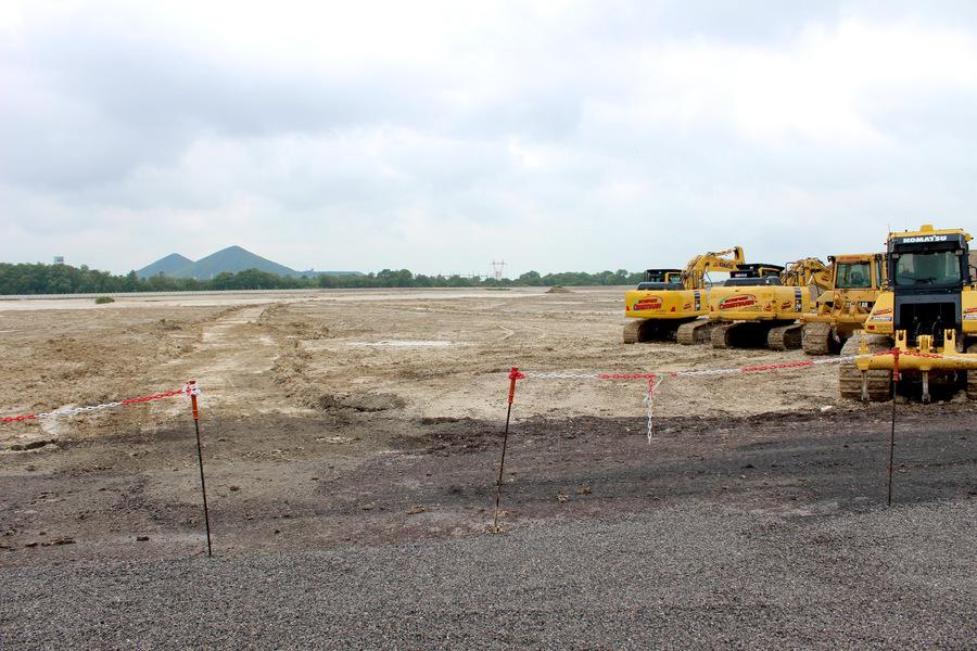 Les travaux de terrassement vont se dérouler jusqu'à la fin de l'année2021. (CH de Lens)