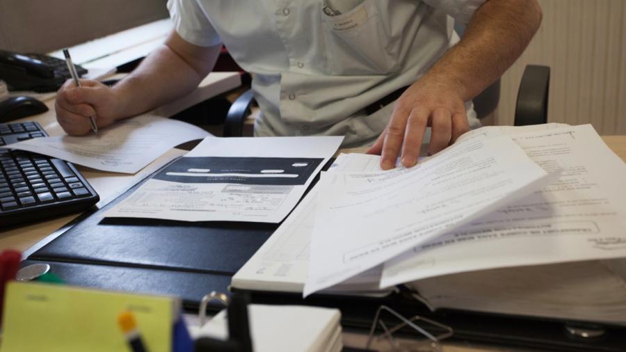 L'obligation de certification concerne à compter du 1er janvier 2023 sept professions de santé. (Calmettes/BSIP)