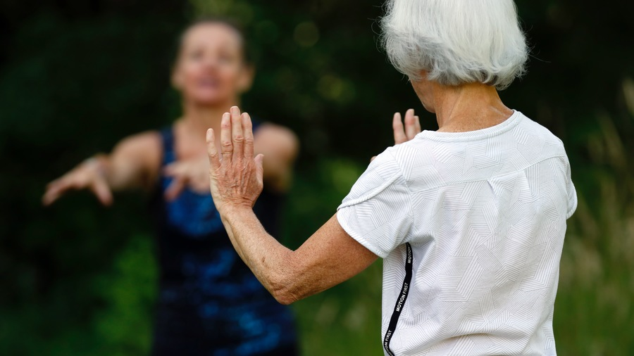 L'activité physique fait partie des principaux leviers de prévention de la maladie d'Alzheimer. (Godong/BSIP)